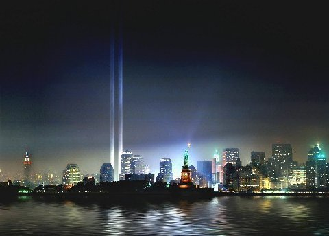 Picture of Twin Towers Gone but not Forgotten